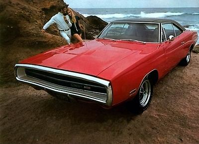 1970 Dodge Charger Factory Photo c3822-1YFGZL
