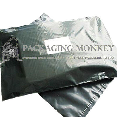 """2000 x Grey Mailing Postal Postage Bags 13x19"""" *PRICE REDUCTION*"""