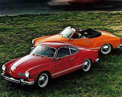 1973 Volkswagen Karmann Ghia Coupe Conv Factory Photo  c4084-9SDJSM