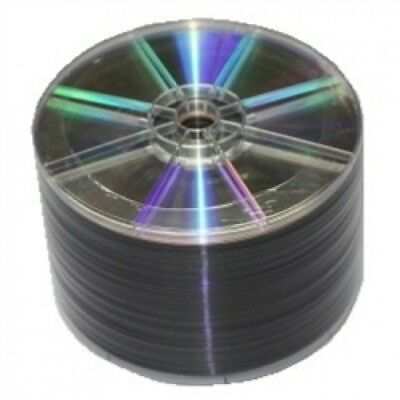 50 Grade A 16X DVD+R 4.7GB Shiny Silver (Shrink Wrap)