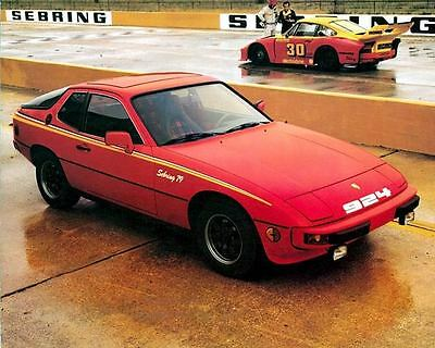 1979 Porsche 924 Sebring Pace Car Factory Photo c4117-CP3NN3