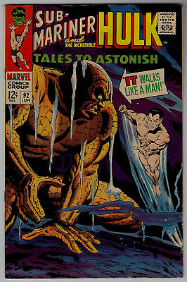 TALES TO ASTONISH # 92 MARVEL  1st SILVER SURFER