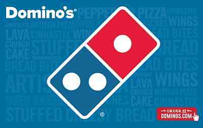 Domino's Gift Card $25/ $50/ $100 - Mail delivery