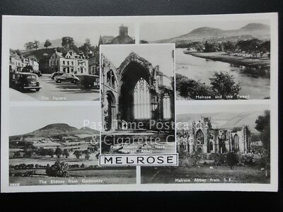 Melrose Multiview RP Old Postcard