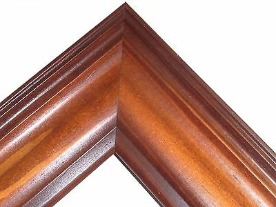 """2.5"""" Americana Honey Solid Wood Picture Frame-Custom Made Square Sizes"""