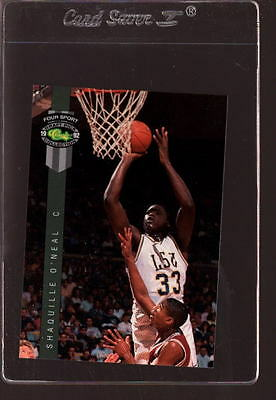 1992 CLASSIC FOUR SPORT #1 SHAQUILLE O'NEAL RC NMMT *581644