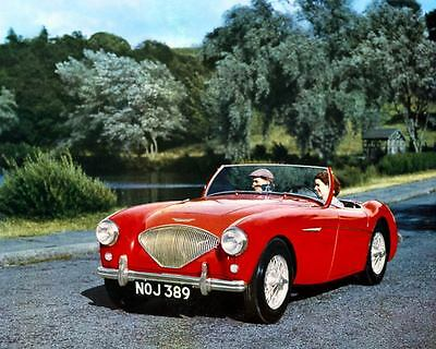 1954 1955 Austin Healey 100 100-4 Factory Photo c4544-NMLW2H