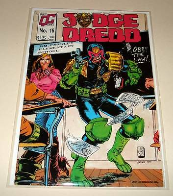 JUDGE DREDD # 16 Quality Comic  1988  FN/VFN