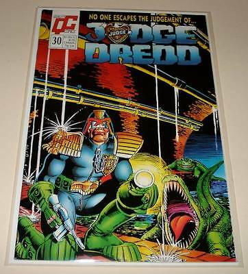 JUDGE DREDD # 30 Quality Comic  1989  FN/VFN