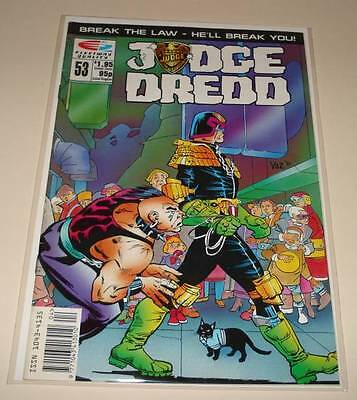 JUDGE DREDD # 53  Fleetway Quality Comic 1991   FN.