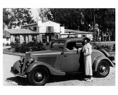 1934 Ford 3 Window Coupe Factory Photo  c5034-1OO832