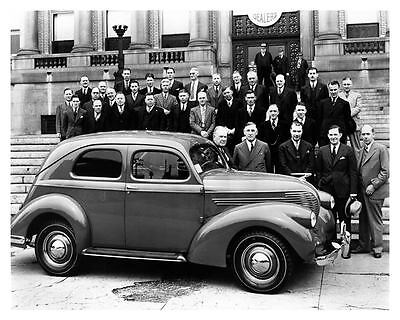 1938 Willys Clipper Factory Photo c5239-8J3P3S