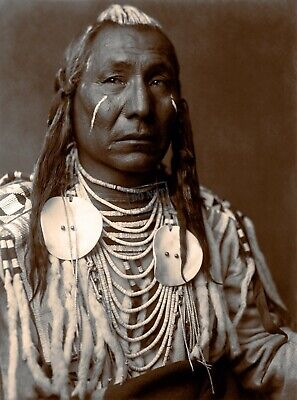Edward Curtis Slow Bull Giclee Fine Art Print Open Edition Reproduction