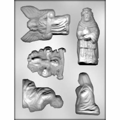 Nativity Scene #3 Candy Mold from CK #4805 - NEW