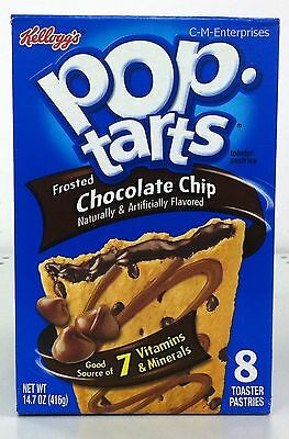 Kellogg's Pop Tarts Frosted Chocolate Chip Toaster Pastries 14.7 oz