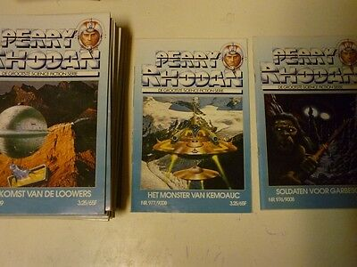 Perry Rhodan no. 976/9007 -- 997/9028 [Dutch]