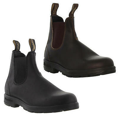 Blundstone 510 / 500 Mens Brown Black Leather Chelsea Ankle Boots Size UK 7-12