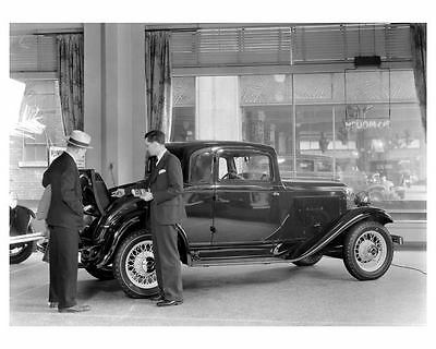 1932 Plymouth Rumble Seat Coupe Factory Photo c6694-CDMADC