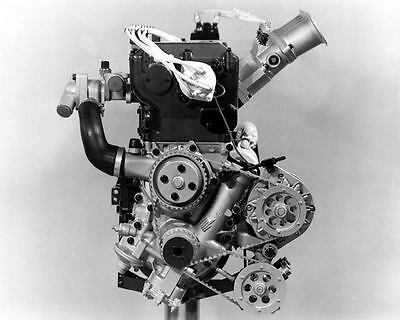 1976 Opel 2 Litre 16V Rally Race Engine Factory Photo c6842-71KQL7