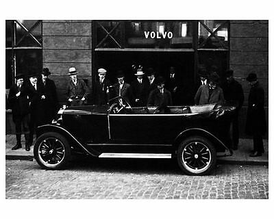 1927 Volvo OV4 First Production Car Factory Photo c7151-XEQSB4