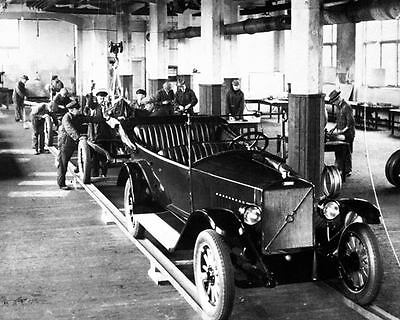 1927 ? Volvo OV4 Production Line Factory Photo c7152-6833OR