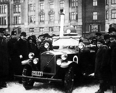 1929 Volvo OV4 Race Car Factory Photo George Holmqvist c7158-TVJDNI