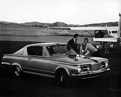 1965 Plymouth Barracuda Factory Photo c7275-XVLYUN