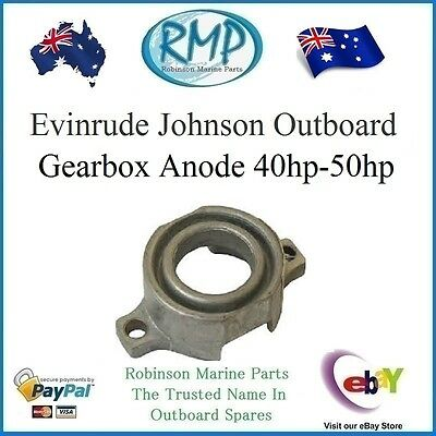 A Brand New Gearbox Anode Suits Evinrude Johnson 40hp-50hp 1990-2005 # 398873