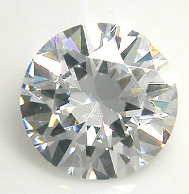 Masterpiece Collection: (1) 3mm Round White Natural (Genuine) Diamond .10 Cts