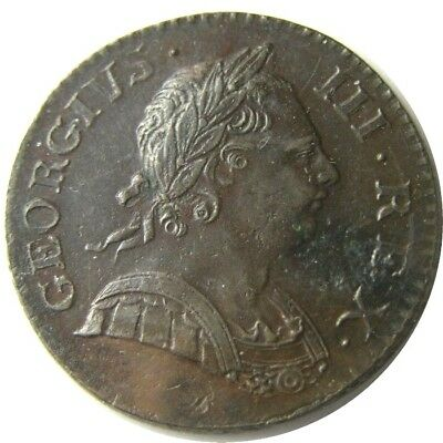 elf Great Britain Half Penny 1770  King George III