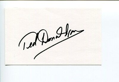 Ted Donaldson A Tree Grows in Brooklyn Adventures of Rusty Signed Autograph