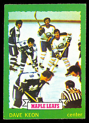 1973 74 Opc O Pee Chee #150 Dave Keon Ex-Nm Toronto Maple Leafs Hockey Card