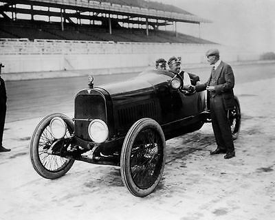 1916 Hudson Race Car Factory Photo Ralph Mulford c7686-TY5CRY
