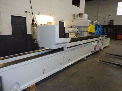 """18"""" x 18"""" x 168"""" HILL-ACME HORIZONTAL-SPINDLE SURFACE GRINDER - #BL160"""
