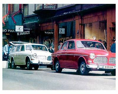 1966 Volvo 122S & Wagon Factory Photo  c8322-LCW2TO