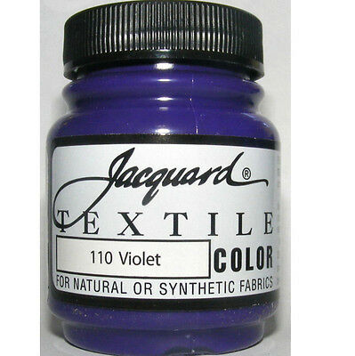 'violet ' Natural Or Synthetic Fabric Paint