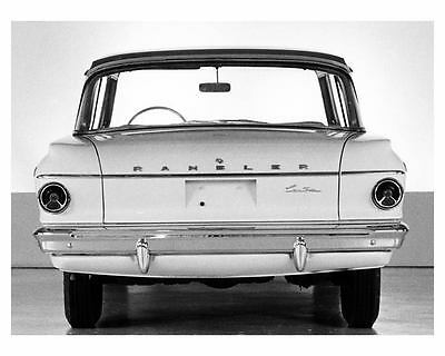1962 AMC Rambler Classic Custom Factory Photo c8574-XQWINQ