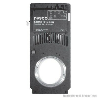 Rosco Simple Spin Gobo Rotator - stage, worship,theater, TwinSpin
