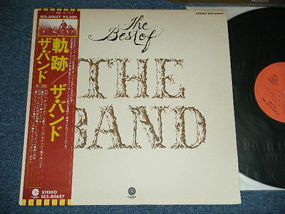 THE BAND Japan 1976 NM LP+Obi THE BEST OF