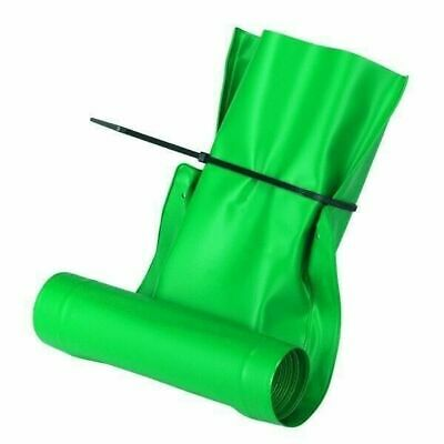 "Frost King DE46 Auto Drain Away 46"" Roll Out Downspout Extender Green Extension"