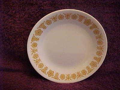 CORNING CORELLE CHINA Bread & Butter Plate BUTTERFLY GOLD