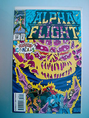 marvel comics alpha flight MINT  IN SLEEVE NOV #126 CRUSHED BY CARCAS 5