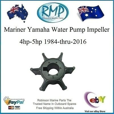 A Brand New Yamaha Water Pump Impeller 4hp-5hp 1984-2014 # R 6E0-44352-00