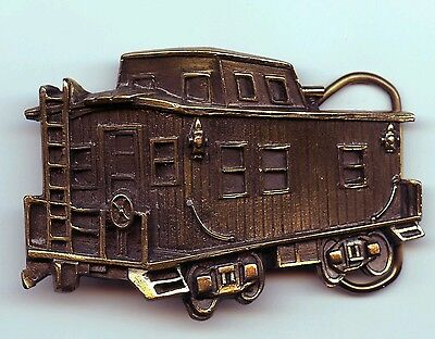 1979 Caboose Belt Buckle