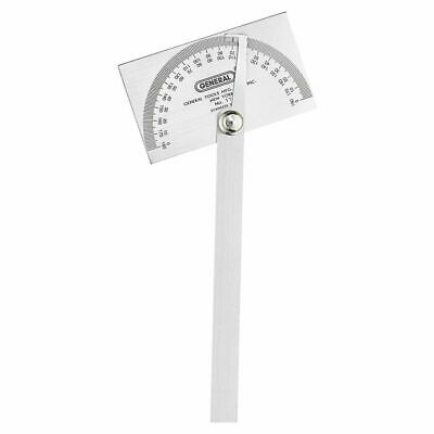 General Tools 17 Heavy Duty Square Head Steel Protractor