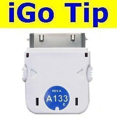 NEW iGo A133 Tip Apple iPhone 4S/4/3GS/3G/2G +iPod Nano/Touch Charger/Charging