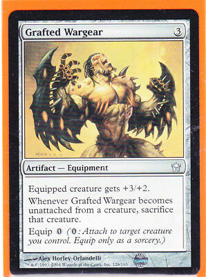 MTG Magic * 5th Dawn 1 x * GRAFTED WARGEAR * Uncommon card * unplayed * Mint HOT
