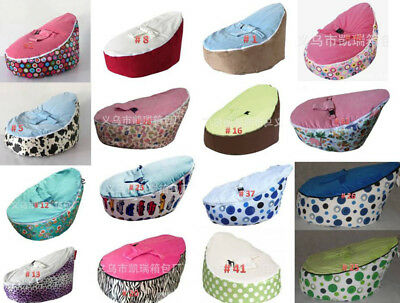 Various Print Baby Bean Bag High Quality Todler Kid Portable Seat--UNFILLED