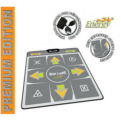 DDR Energy Premium Edition Dance Pad for PS2 Xbox PC Wii