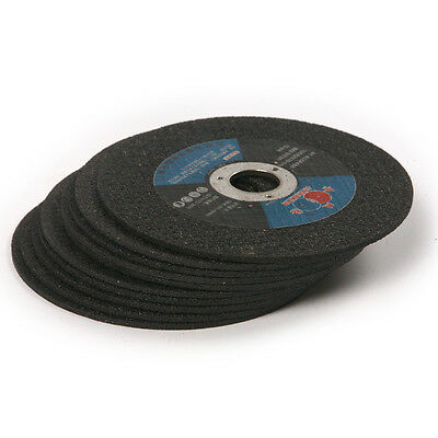 """10pcs 100x2x16mm Flat Metal Cutting Discs 4"""" Angle Grinder for Rotary tool"""